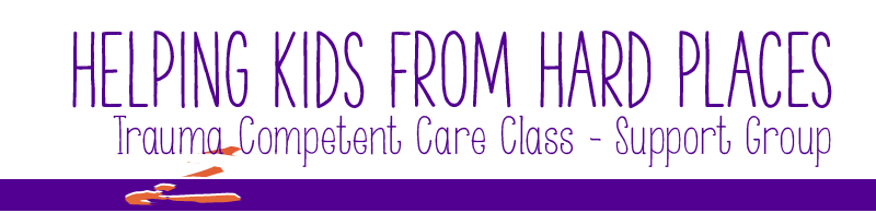 Helping Kids from Hard Places Trauma Competent Care Class - Support Group